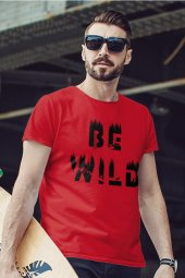 Be Wild Kırmızı Outdoor Erkek Tshirt - Tişört