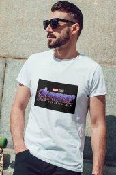Avengers Beyaz Erkek Tshirt - Tişört