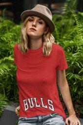 Air Jordan 37 Kırmızı NBA Kadın Tshirt - Tişört