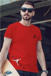 Air Jordan 23 Kırmızı NBA Erkek Tshirt - Tişört