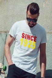 Since 1925 Beyaz Erkek Tshirt - Tişört