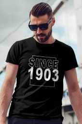 Since 1903 Siyah BJK Erkek Tshirt - Tişört
