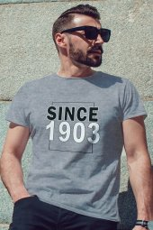 Since 1903 Gri BJK Erkek Tshirt - Tişört