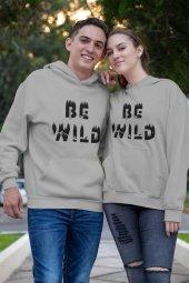 Sevgili Kombini Bewild Gri Kapşonlu Sweatshirt - Tek Ürün Fiyatıdır.