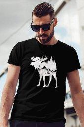 Erk Siyah Outdoor Erkek Tshirt - Tişört