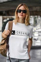 Air Jordan 13 Beyaz NBA Kadın Tshirt - Tişört