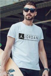 Air Jordan 13 Beyaz NBA Erkek Tshirt - Tişört