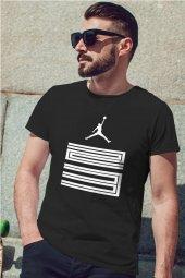 Air Jordan 11 Siyah NBA Erkek Tshirt - Tişört