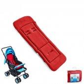 IŞŞIL BabyJem Bebek Arabası Puset Minderi 346 Kırmızı
