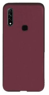Oppo A31 Kılıf Silikon Premier Soft Mor-(şdjhvıebvc)