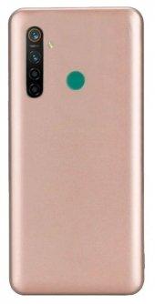 Realme 5i Kılıf Silikon Premier Soft + Tam Kaplayan Ekran Koruyucu-(jfbcmx))