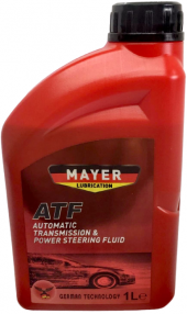 Mayer Atf Automatic Transmission & Power Steering Fluid 1 L