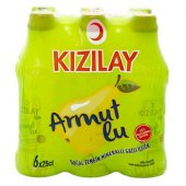 Kızılay Premium Armut Aromalı Maden Suyu 250 ml x 24 Adet