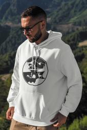 View Beyaz Erkek Kapşonlu Sweatshirt - Hoodie