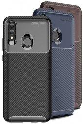 Huawei P Smart 2019 Kılıf Silikon Negro Karbon Darbe Emici-(vze-5c)