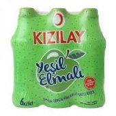 Kızılay Premium Yeşil Elma Aromalı Maden Suyu 250 ml x 6 Adet