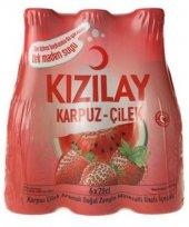 Kızılay Maden Suyu Karpuz & Çilek Aromalı 200 ml x 6 Adet