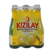 Kızılay Limon Aromalı Maden Suyu 200ml X 6 Adet