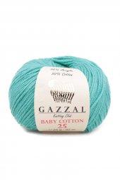 Gazzal Baby Cotton 25 El Örgü İpi 3426