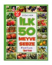 İlk 50 Meyve Sebze Eğitici Eşleştirme ve Bilgi Kartları (Diytoy)