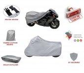Harley Davidson Street Rod Özel Deri Motosiklet Brandası Motor Brandası Motorsiklet Brandası Gri Renk