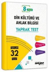 8. Sınıf Din Kültürü ve Ahlak Bilgisi Yaprak Test Ankara Yayıncılık