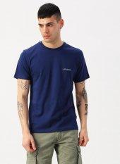 Csc Basic Ss Tee T Shirt Mavi