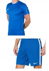 Nike M Nk Dry Park18 Lacivert Cepsiz Şort+lacivert Tişört