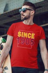 Since 1905 Kırmızı GS Erkek Tshirt - Tişört