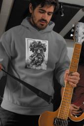Zeus Erkek Kapşonlu Sweatshirt Hoodie