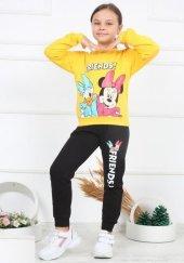 Kız Çocuk Friends! Donald And Minnie Sarı Eşofman Takım