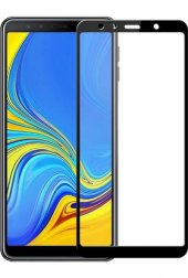 Samsung Galaxy A7 2018 Tam Kaplayan Nano Kırılmaz Cam Ekran Koruyucu