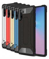 Samsung Galaxy Note 10 Kılıf Çift Katmanlı Crash Kapak Darbe Korumalı-(hbvc-57bb)