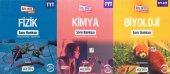 Okyanus TYT Fizik + Kimya + Biyoloji Soru Bankası Set