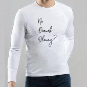Ne Demek Olmay Yazılı Baskılı Karadeniz Tişört
