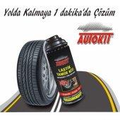 AUTOKİT Lastik Tamir Spreyi 450ML (Güvenilir-Pratik-Hızlı)