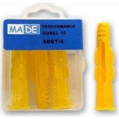 Made Performance Dubel 10 Mm ( 1 Kutu:4 Adet)