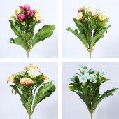 Yapay Demet Çiçek Akşam Sefası 7 Dal 30 Cm