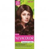 Natural Colors Kalıcı Saç Boya Seti  5.4 Açık Kestane 8690057006555