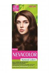 Natural Colors Kalıcı Saç Boya Seti  5.7 Kışkırtıcı Kahve 8690057006678