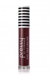 Ruj - Pretty By Flormar Stay True Lipgloss Bordeaux 8690604462674