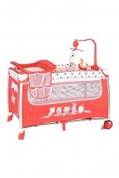 Sunny Baby Tiamo Oyun Parkı 70x110 Cm Kırmızı