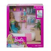 GJN32 Barbie Spa Günü Oyun Seti  /Barbie Wellness