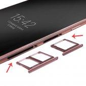 Samsung Galaxy C9 Pro İçin Sim Hafıza Kart Kapağı