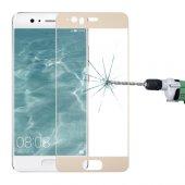 Huawei P10 Plus Full Kaplama Renkli Kırılmaz Cam Ekran Koruyucu
