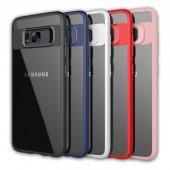 Galaxy S8 Ultra Slim Trasparan Premium Silikon Kılıf