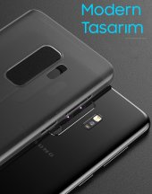 Baseus Galaxy S9 Plus Wing Case Ultra İnce Lux Mat Kılıf