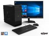 EXPER PC DIAMOND DEX518 R5-3500 8GB DDR4 240GB SSD GT710 2GB W10+KB MOUSE SET +21.5 EXPER MONİTÖR