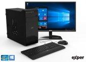 EXPER PC DIAMOND DEX519 İ5-9500 8GB DDR4 480GB SSD UMA W10 + KB MOUSE SET + 21.5 EXPER MONİTÖR