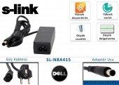 S-link sl-nba415 45w 19.5v 2.31a 7.4-5.0-0.6 Dell Notebook Adaptörü